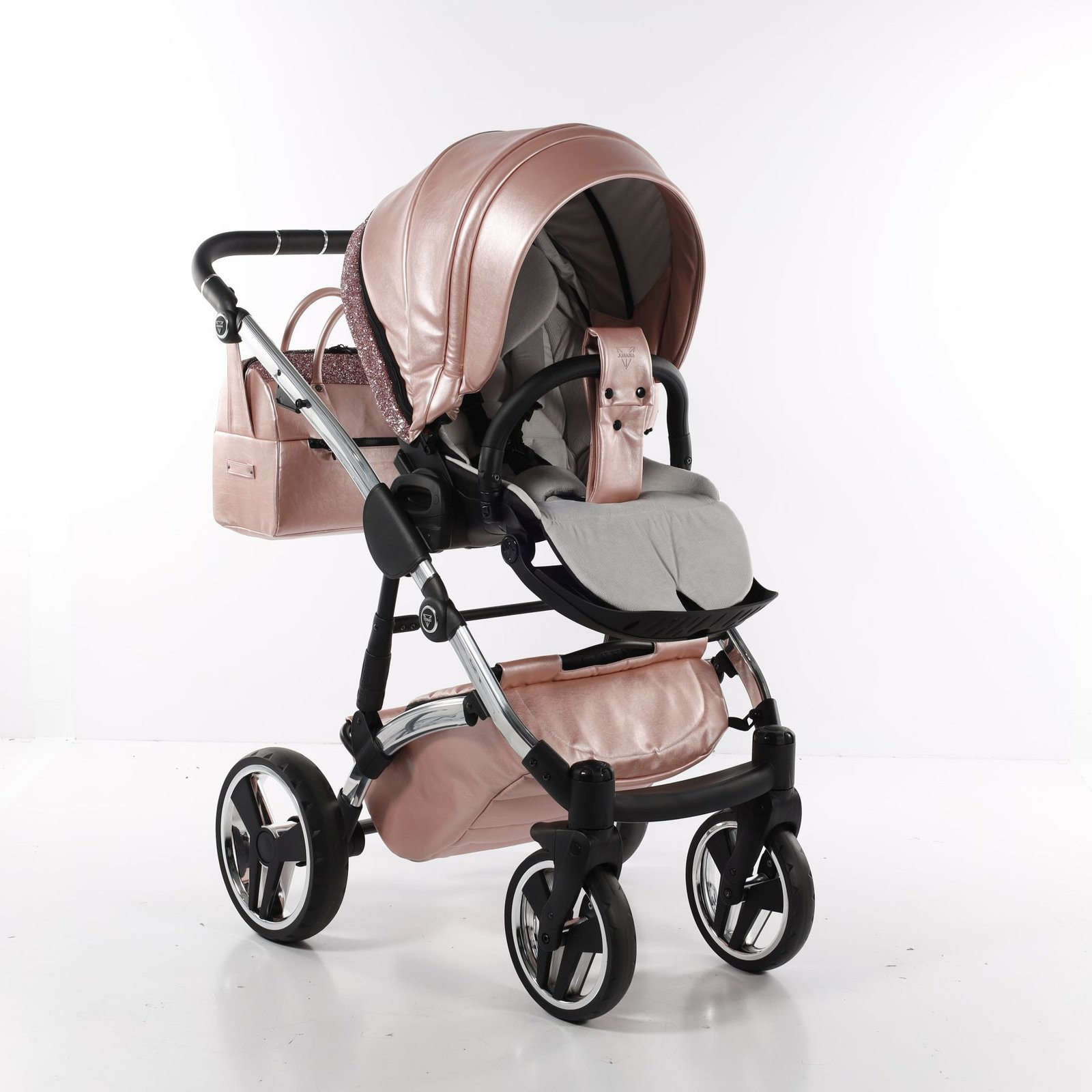 Junama GLITTER - 2in1 pushchair with carrycot   colour 06 06   Prams    KinderPrams